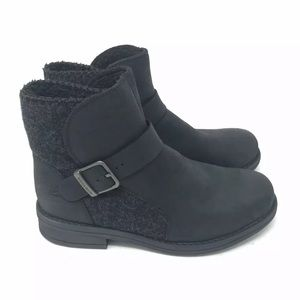Woolrich Boots Wool Leather Pioneer Wrap Buckle